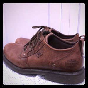 Harley Davidson leather shoes